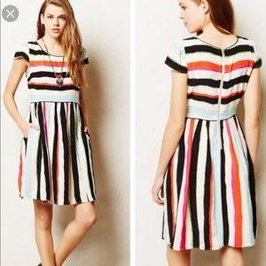 Anthropologie | Multi Color Maeve Peralta Dress